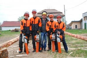 Echipa Colegiului Silvic Gurghiu
