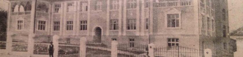 Spitalul Reghin ilustrata din 1932