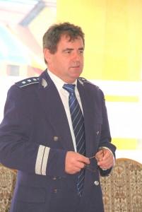 Vasile Oltean este comandantul Politiei Reghin din 15   martie 2008