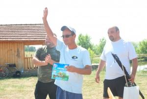 """Cristian Căşvean, câştigătorul """"Carasul de aur"""""""