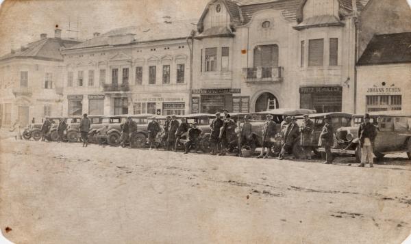 Proprietarii de masini din Reghin in anul 1931