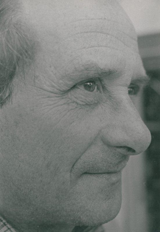 Anton Badea inastantaneu din august 1984 realizat de Dr. Cinca Ion