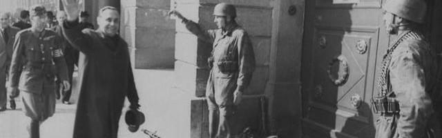 Ferenc Szalasi a venit la Reghin in 1943 pentru a cunoaste organizatia locala (Small)