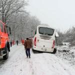 autocar derapat langa Reghin