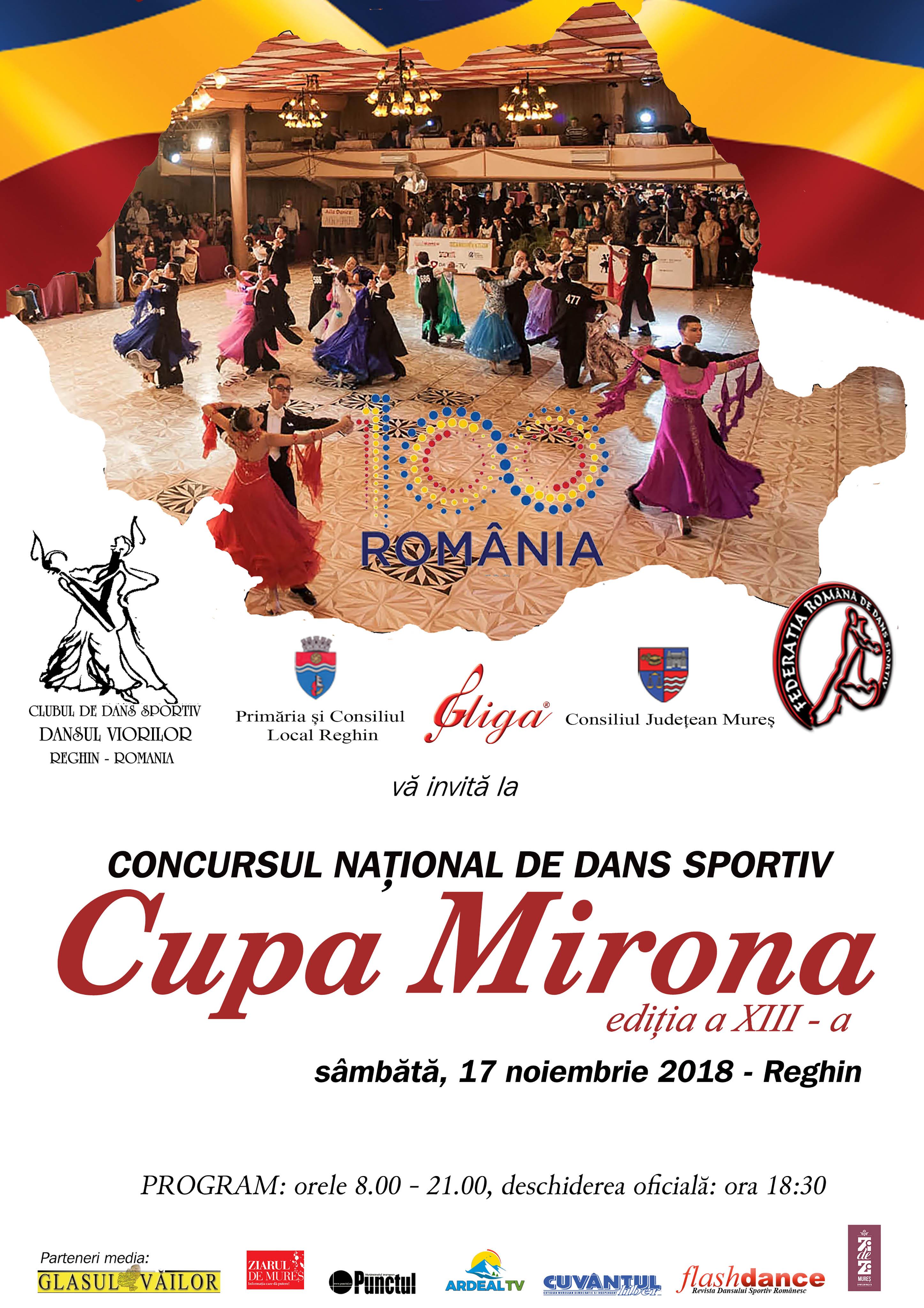 Afis Cupa Mirona 2018