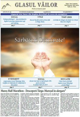 Ziarul Glasul Vailor Anul IX, nr 142