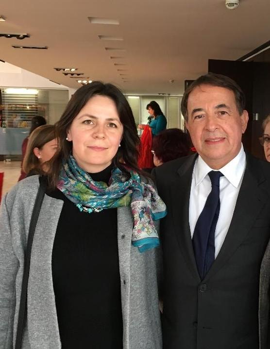 Discuţii cu Luis Ayala, secretar general al  Internaţionalei Socialiste