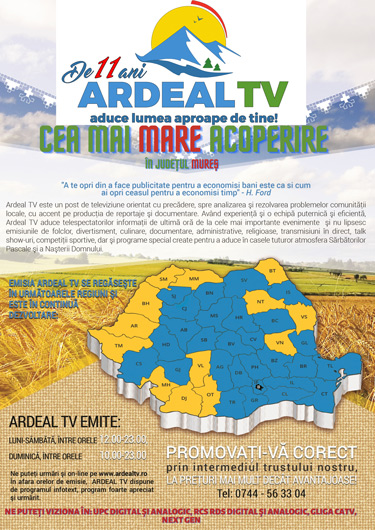 Ardeal TV acoperire